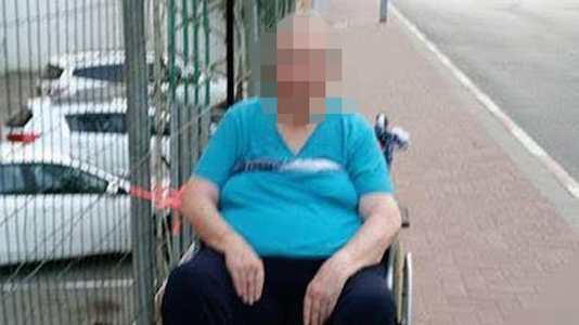 The photograph of a wheelchair-bound elderly woman tied to a fence made rounds on social media, sparking outrage and allegations of neglect and abuse.
