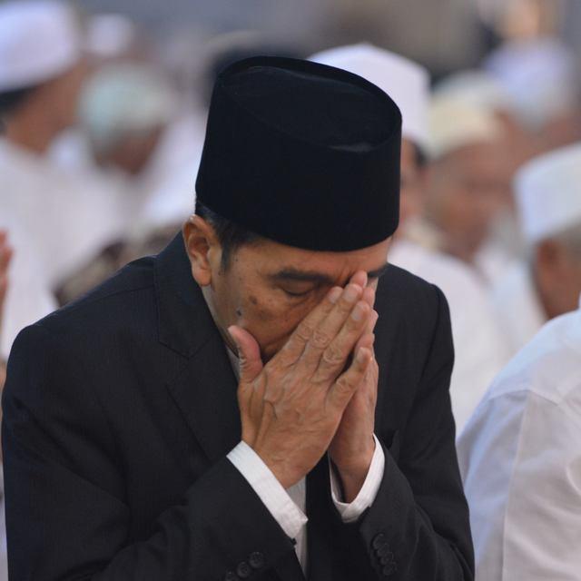 Jokowi masih menyisakan banyak PR sejak dilantik sebagai presiden tahun lalu. Foto dari Facebook