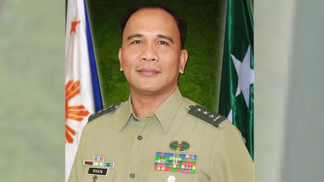 DARK HORSE? Lieutenant General Ricardo Visaya joins the shortlist for the next chief of the Armed Forces of the Philippines