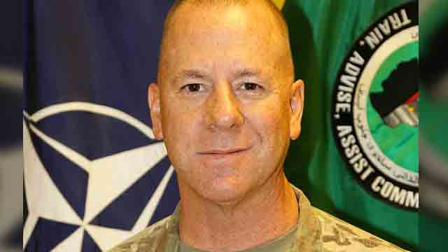 WOUNDED. American Brigadier General Jeffrey Smiley is among 13 wounded in an attack at a Afghan security meeting. Miller was unhurt in the shooting. Photo from Wikimedia