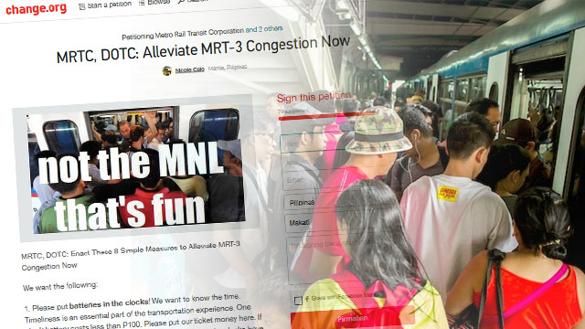 INTOLERABLE. Commuting via the MRT is a hurdle thousands of Filipinos are forced to endure every day.