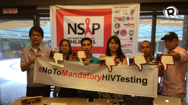 "an argument against mandatory hiv testing Hiv testing mandatory of those affected overrides the human rights argument about voluntary testing,"" he us$3 billion in the fight against hiv/aids."
