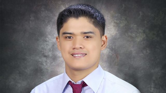 SUMMA CUM LAUDE. Jay Nelson Corbita is one of the brightest in Xavier University-Ateneo de Cagayan. Photo from XU