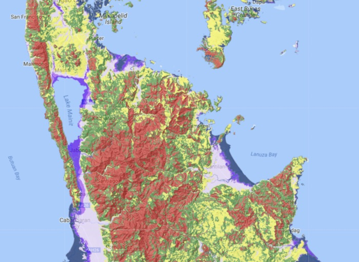 HAZARD PRONE. MGB identifies the whole of Caraga region as one of the areas susceptible to heavy flooding and landslides