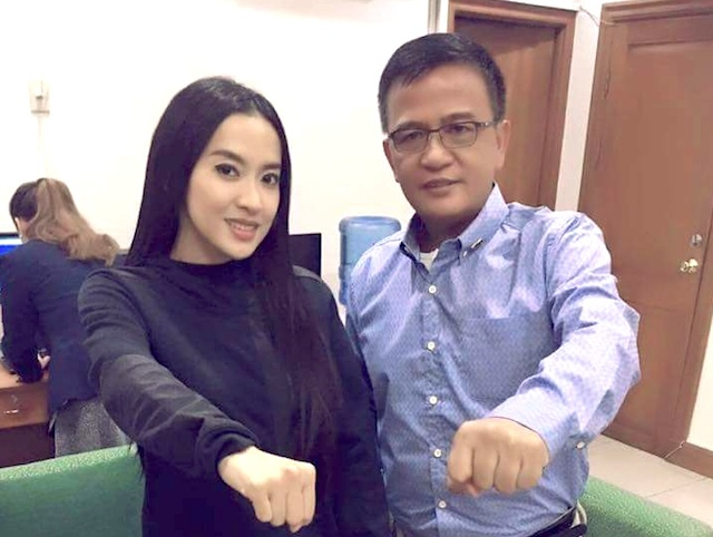 Customs chief denies appointing Mocha Uson as a consultant