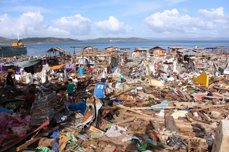 DEVASTATION. Many seaside towns are flattened in the immediate aftermath of super typhoon Yolanda.