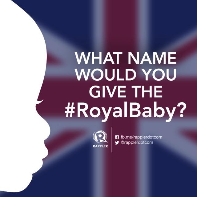 5 Name Predictions For Kate's New #RoyalBaby Girl