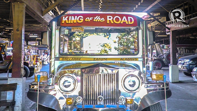 KING OF THE ROAD. Philippine roads are not complete without the jeepney.