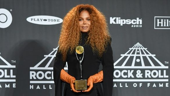 2019 INDUCTEE. Janet Jackson was awarded a spot in the Rock & Roll Hall of Fame. Photo by Angela Weiss/AFP