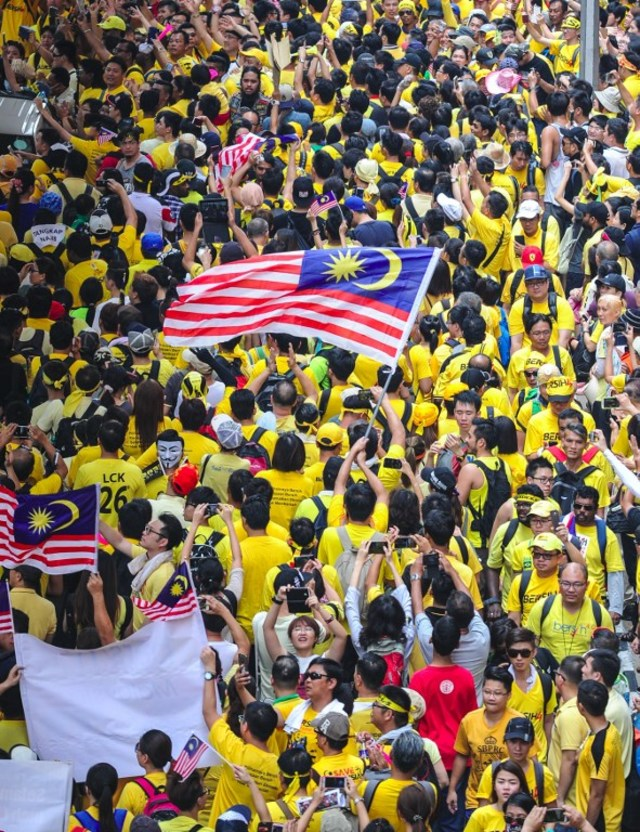 Bersih 4 rally
