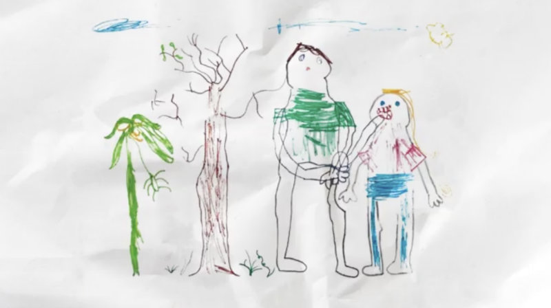 Screenshot of the illustration made by Dr. Elspeth McInnes for Bahay Tuluyan's video