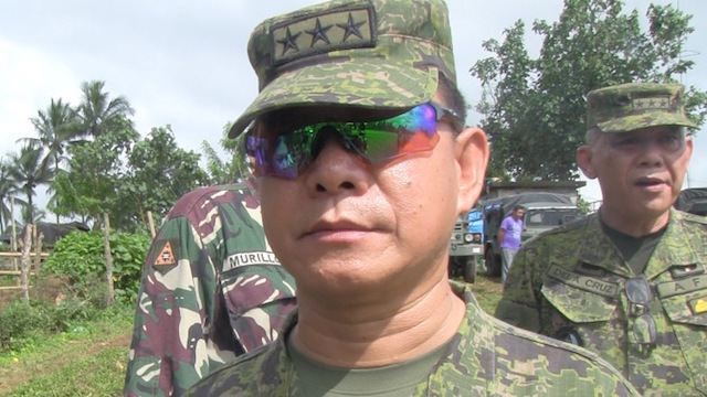 NEW AFP CHIEF. Lieutenant General Eduardo Año is the 3rd from the PMA Matikas Class of '83 to become the chief of staff of the Armed Forces of the Philippines. Rappler photo