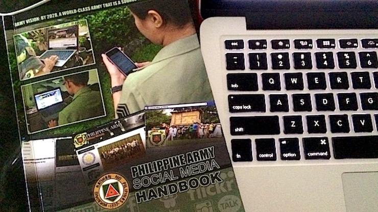 HANDBOOK: The Philippine Army sets the ground rules for troops' social media use