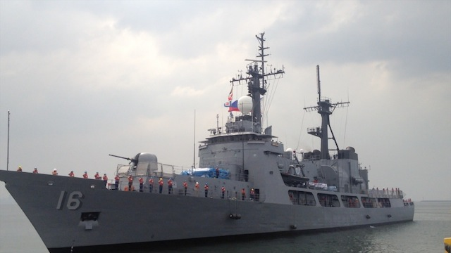 AUDIT FINDING. In photo: Philippine Navy's BRP Ramon Alcaraz.  File photo by Carmela Fonbuena/Rappler