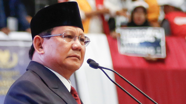 Subianto To Challenge Election Result In Court