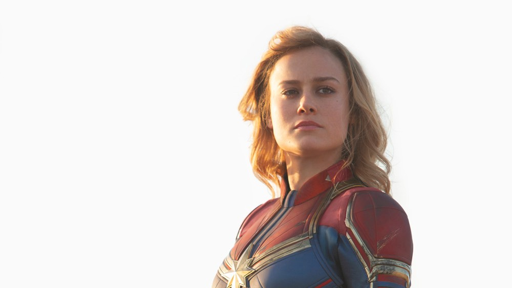 SUPERHERO. 'Captain Marvel' is the first solo female superhero movie in the Marvel Cinematic Universe. Still courtesy of Disney