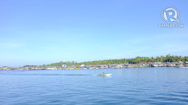 WELCOME TO BASILAN. This view greets Basilan visitors who arrive in Isabela by boat. Photo by Pia Ranada/Rappler