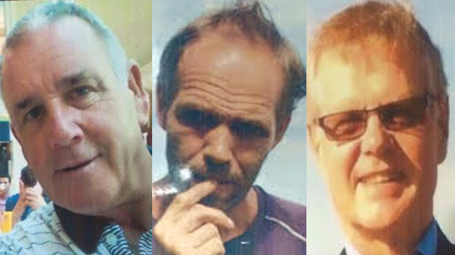 BEHEADED. Robert Hall (L) is the second of 3 foreign hostages killed by the Abu Sayyaf in recent months. Also pictured is John Ridsdel (R), killed back in April; and Kjartan Sekkingstad (C), still held hostage. Photos from the Philippine National Police