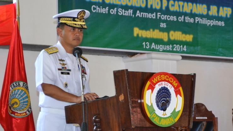 NEW WESCOM CHIEF: Rear Admiral Alexander Lopez. Wescom photo