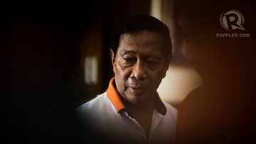CRIMINAL CHARGES. Two weeks after he steps down from the vice presidency, Jejomar Binay is slapped with criminal charges before the anti-graft court Sandiganbayan. File photo by John Javellana