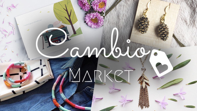 GOOD CAUSE. 'Ethical jewelry,' 'fair trade greeting cards,' and 'accessories that give' - these are just some of the many unique products you can buy on Cambio Market.