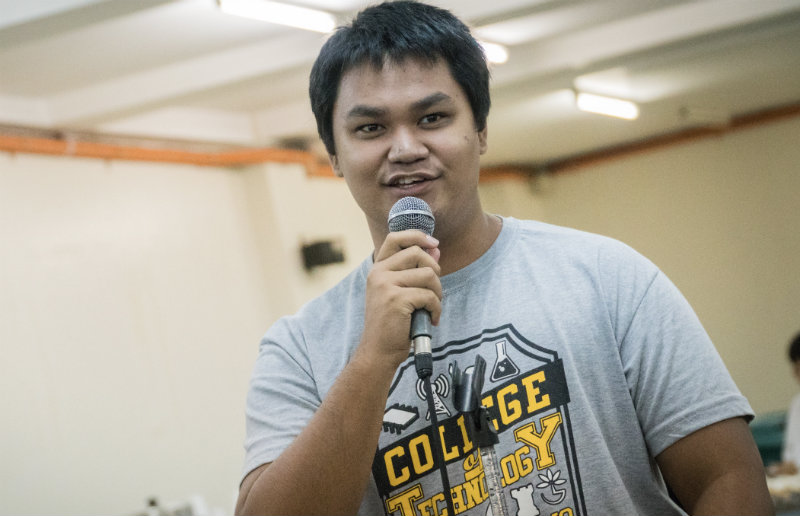 CONCERNED CITIZEN. Rico Amuan asks why road projects are scheduled during the rainy season.
