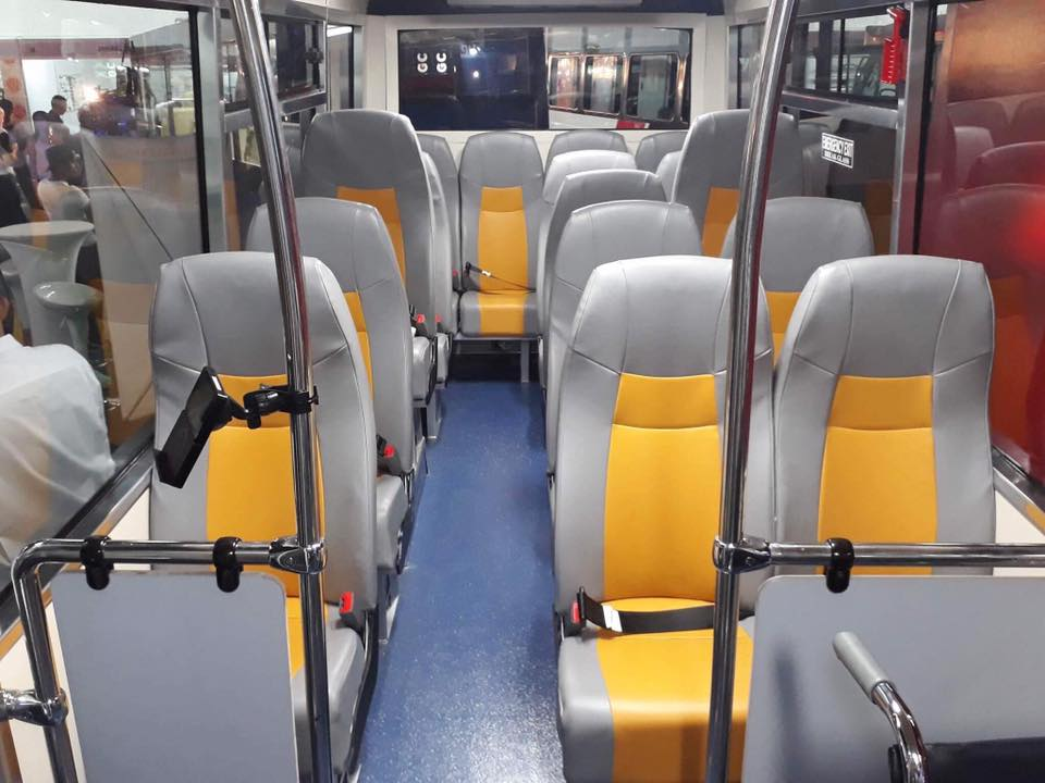 SEATS. The seats of the modern public utility vehicles are improved for better comfort of commuters.