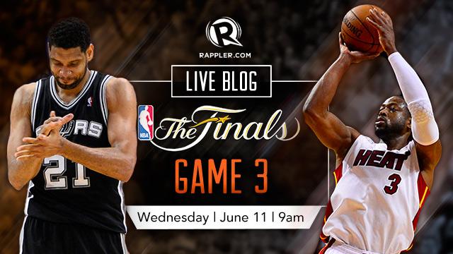 HIGHLIGHTS: NBA Finals 2014 Game 3