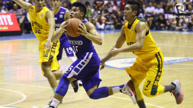 the best attitude 73a0c 0e4c3 Ateneo stands strong against FEU's fury