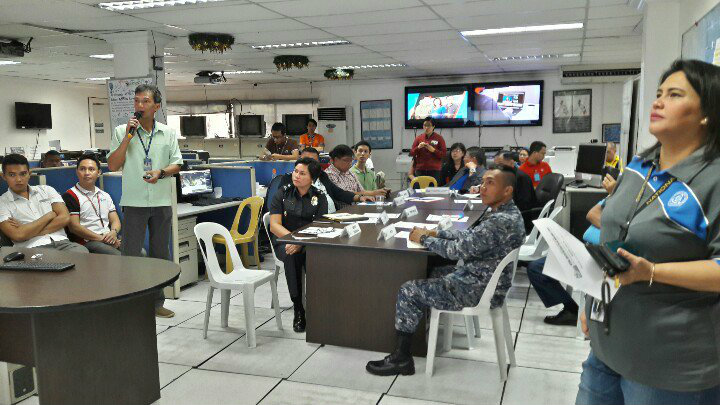 PREPAREDNESS. The NDRRMC conducts an emergency response preparedness meeting to discuss government response for combined effects of Severe Tropical Storm Paolo and the low pressure area. Photo from NDRRMC