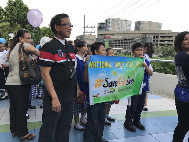 ADVOCACY WALK. Students from different public schools join the Advocacy Walk on June 22, 2017 at the SM Sky Dome in celebration of National Safe Kids Week. Photo by Kaela Malig/Rappler