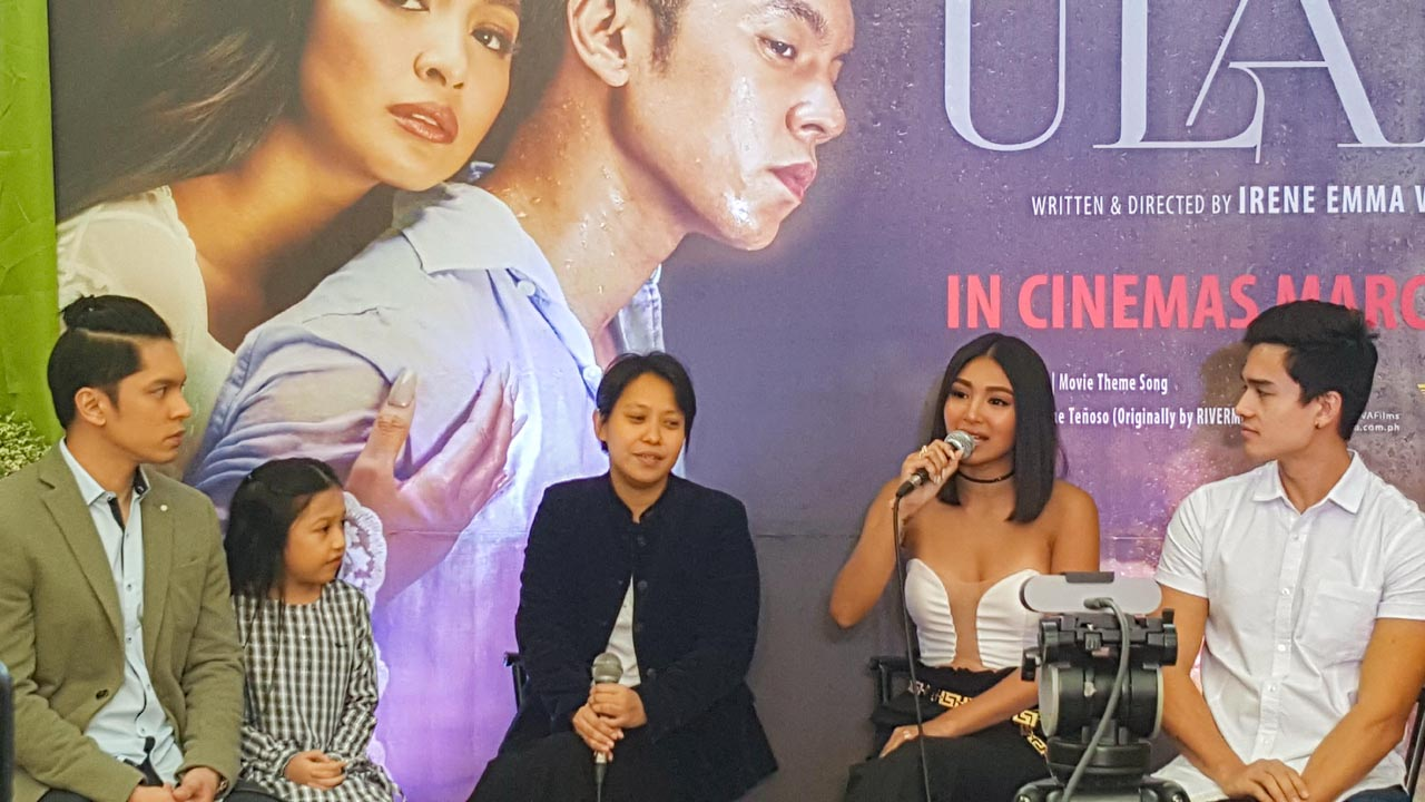 DIFFERENT FILM. 'Ulan' is a romantic drama with some elements magic realism. All photos by Alexa Villano/Rappler