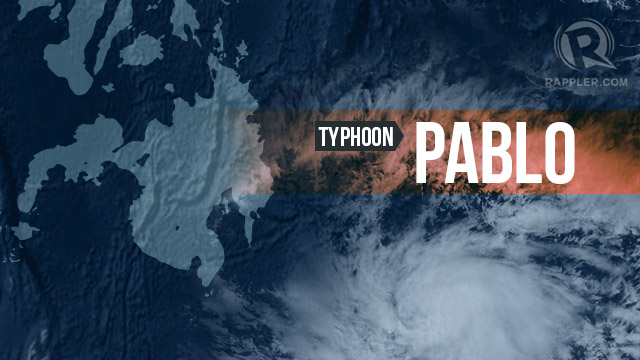Photo of Typhoon Pablo courtesy of NASA