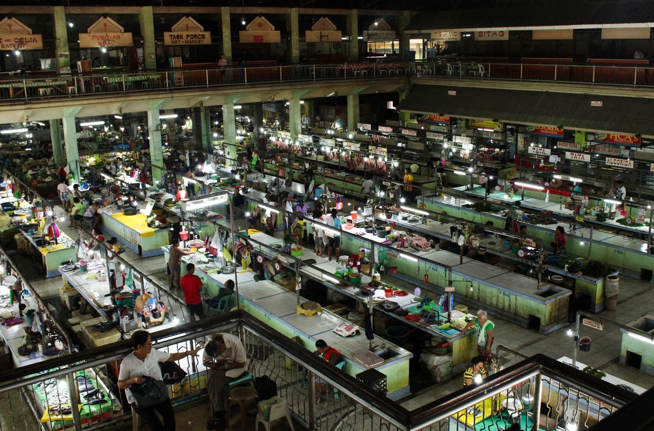 An overview shot of San Carlos City's public market. Photo by Claudia Gancayco