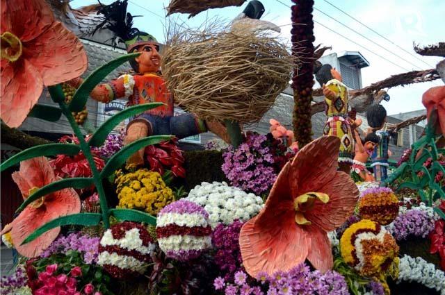 One of the award-winning entries of Pamulak Kadayawan.
