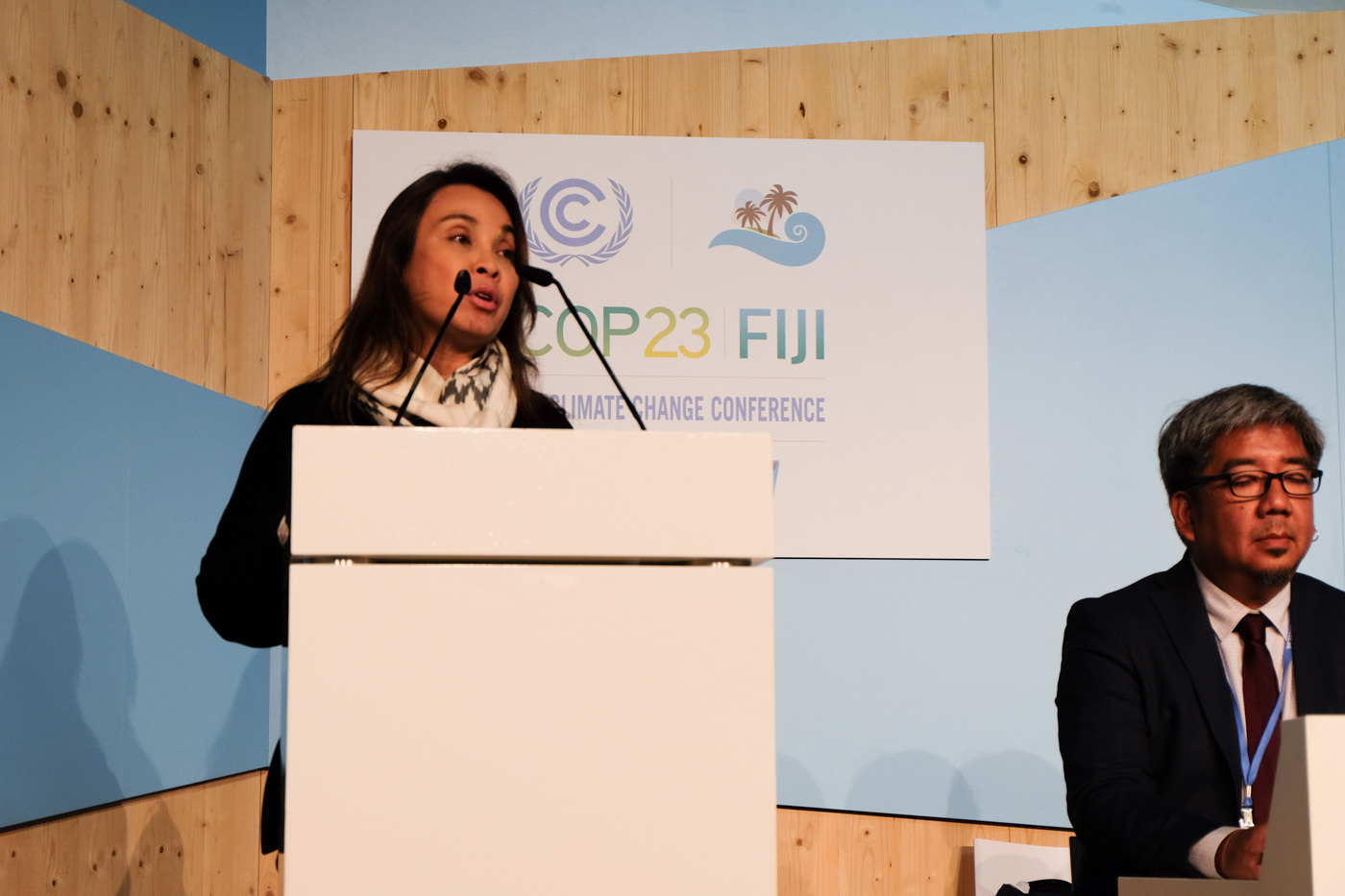 COP23. Senator Loren Legarda leads the Philippine delegation at the 23rd UN Climate Change Conference in Bonn, Germany