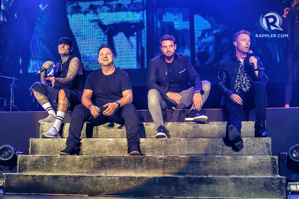 ONE LAST TIME. Irish boyband Boyzone is returning to Manila one more time for their 'Thank You and Goodnight' tour. File photo by Stephen Lavoie/Rappler