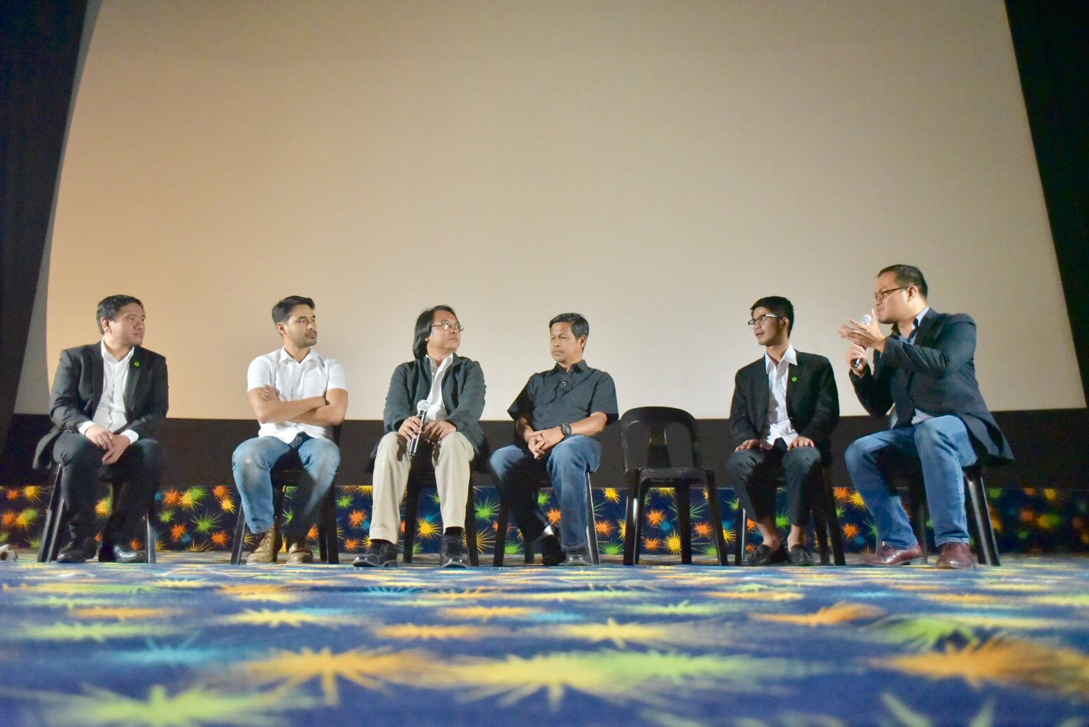 HOPEFUL. Panelists share their messages of hope in the nation's fight against climate change.