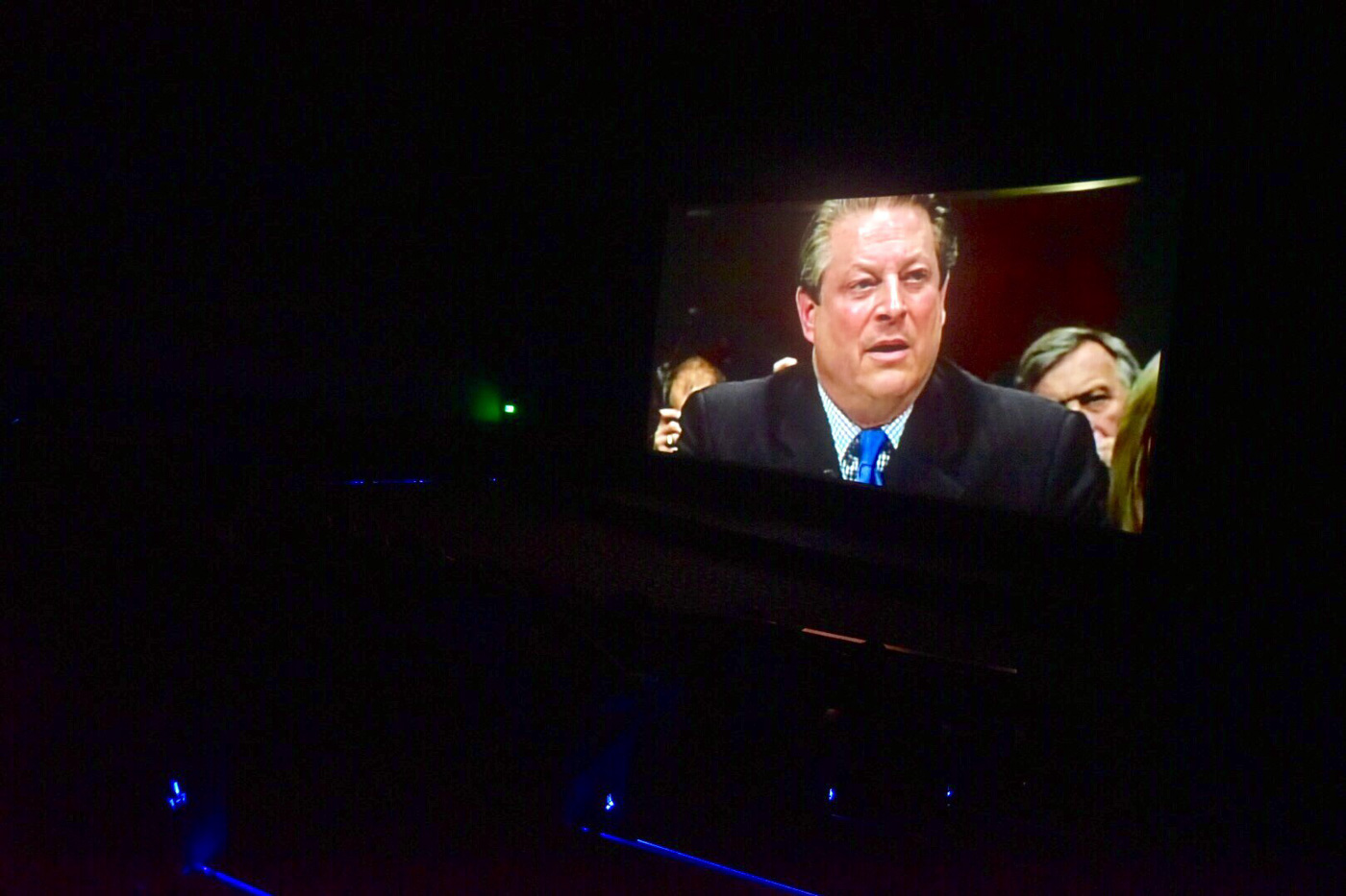 SPECIAL MESSAGE. According to Al Gore, hundred percent of the proceeds from the screening of the documentary will fund future Climate Project Reality trainings. All photos by Leanne Jazul/Rappler