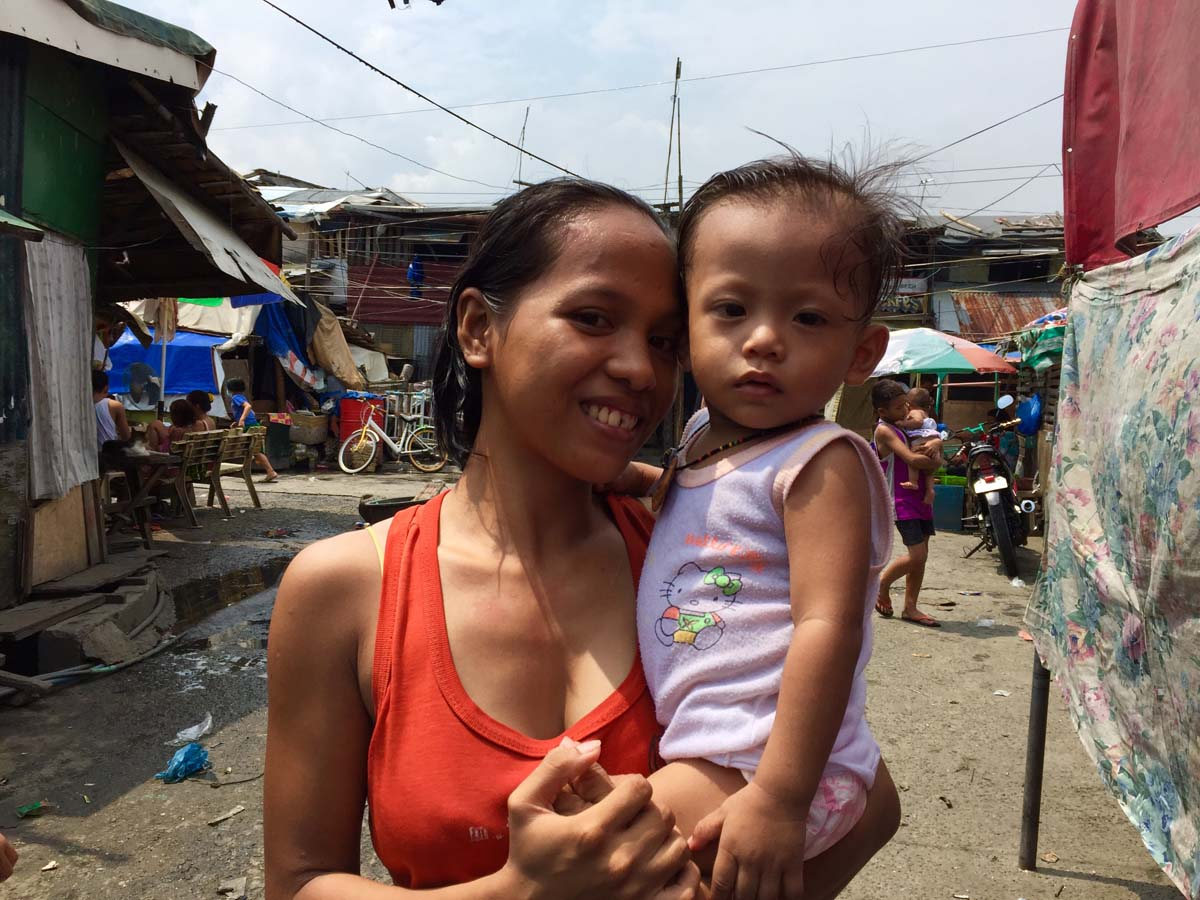 HOME. Bernadette lives in Navotas City. Photo by Fritzie Rodriguez/Save the Children