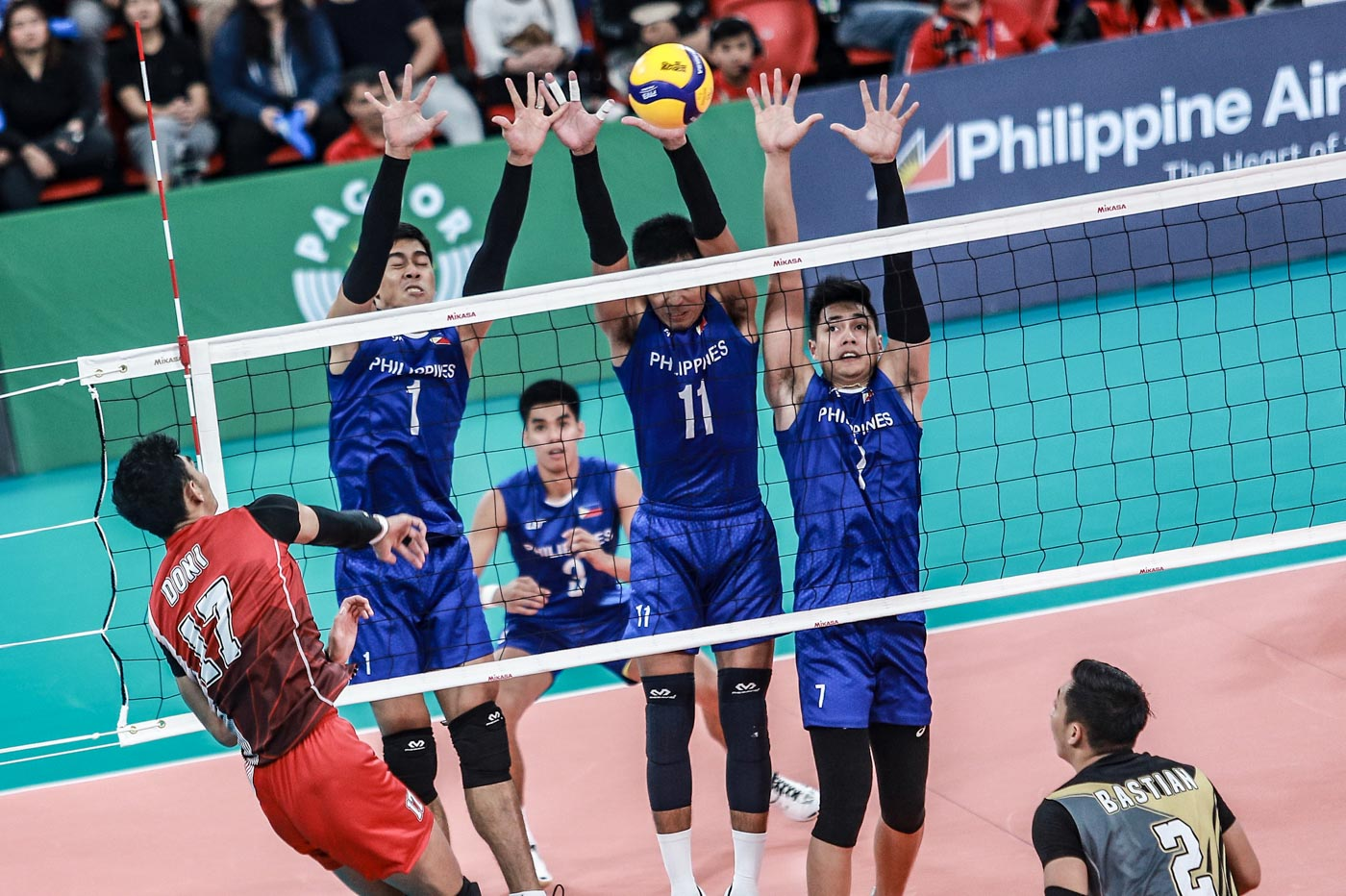 Indonesia Sweeps Anew As Ph Settles For Sea Games Men S Volley Silver