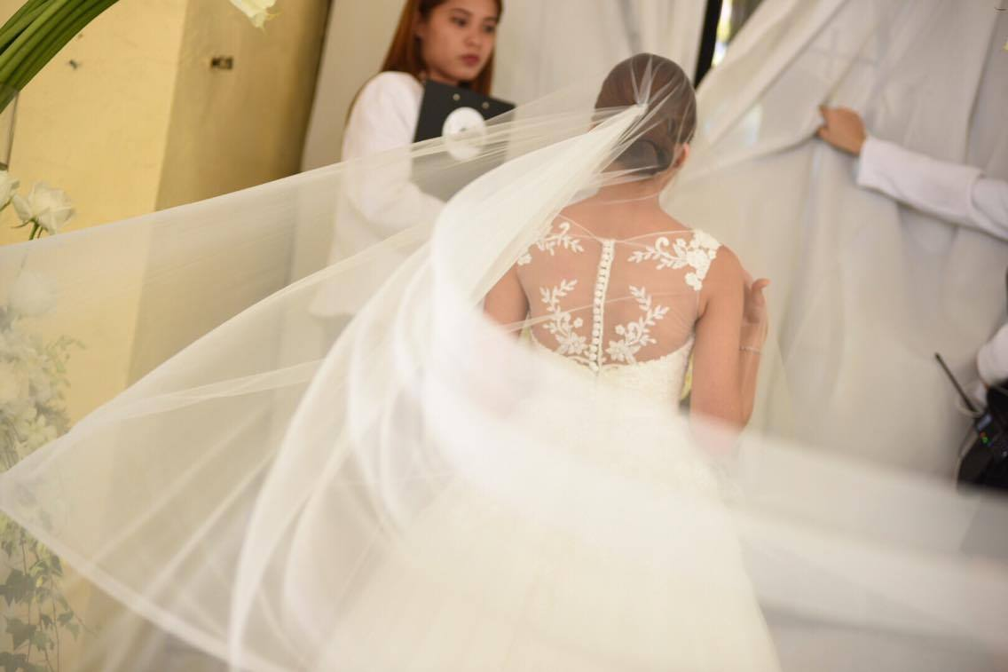 Simple economical wedding