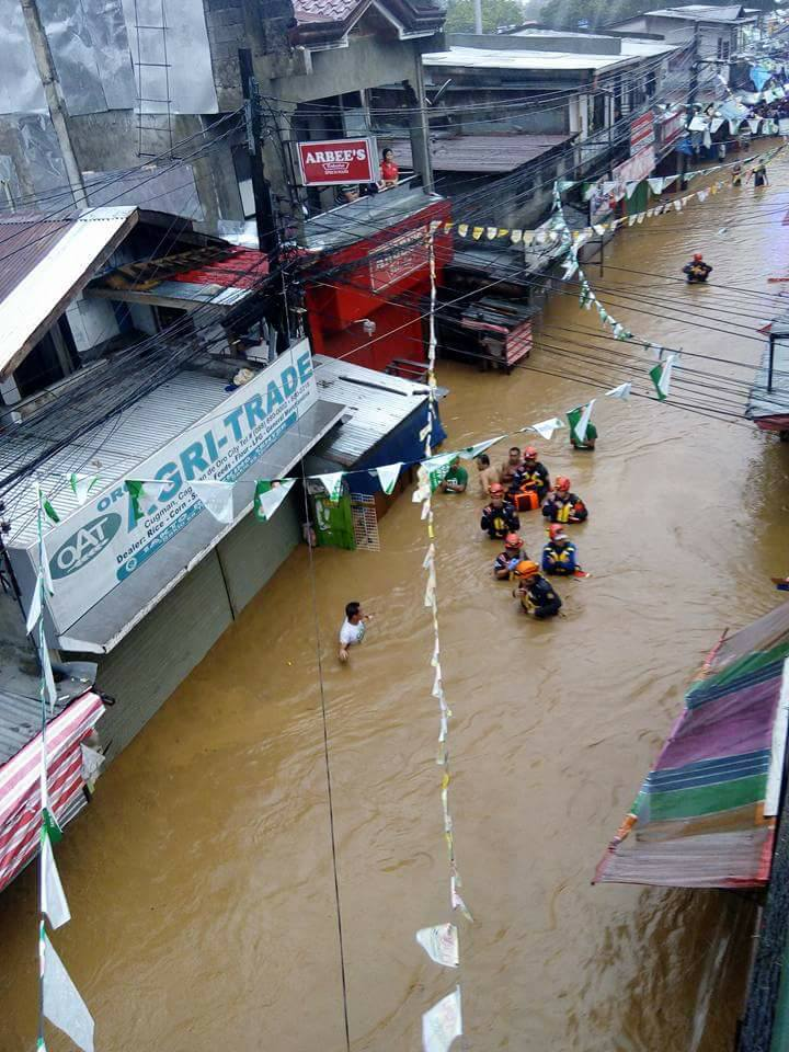 HAZARD-PRONE. The MGB identifies the area as highly susceptible to flooding. Photo by Maricel Eduave Tawacal