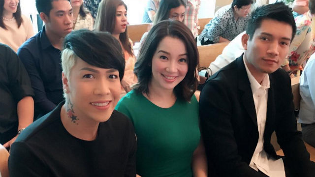 Kris Aquino, James Yap attend son Bimby's First Communion