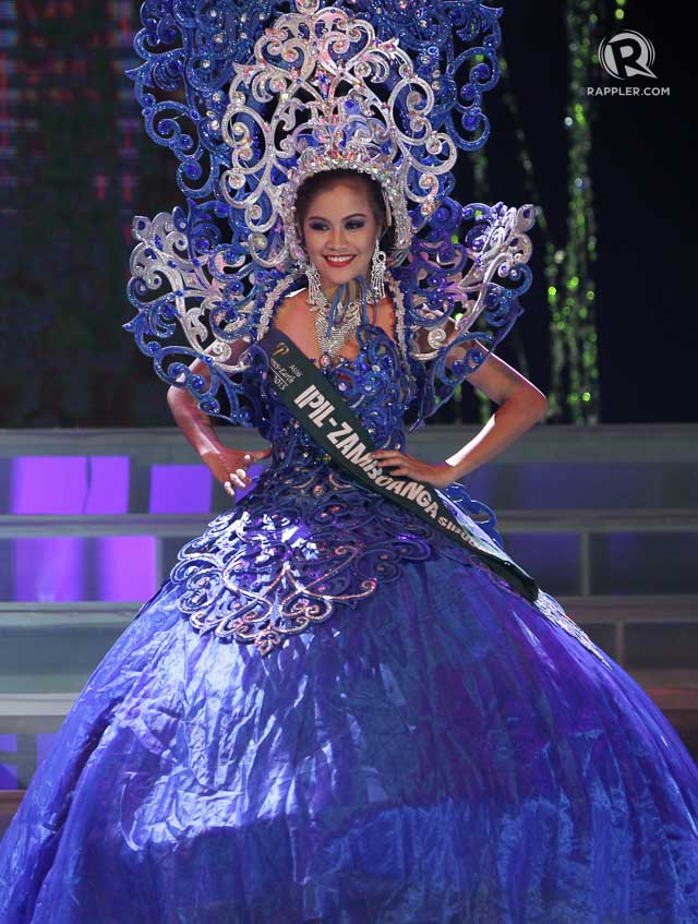 In Photos Miss Philippines Earth 2015 Cultural Costume