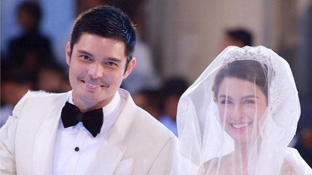 Dingdong Dantes, Marian Rivera mark first wedding anniversary