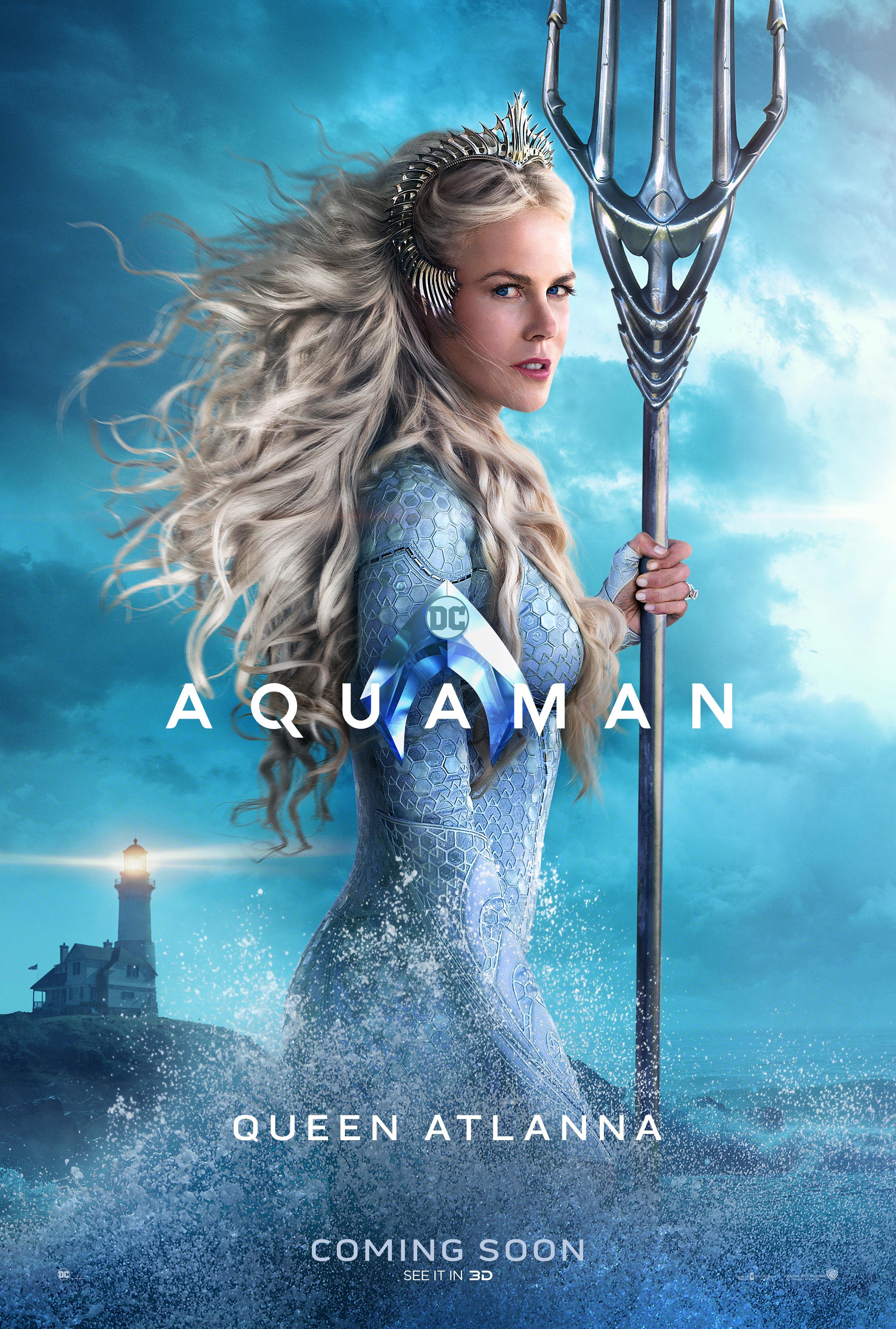 THE QUEEN. Nicole Kidman is Atlanna.