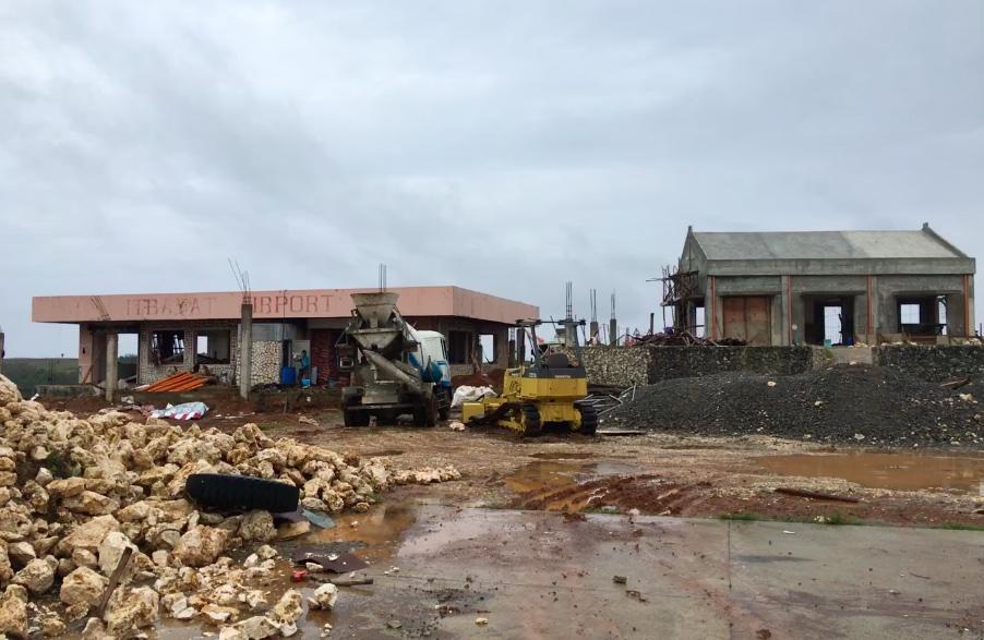GROUND ZERO. Itbayat, Typhoon Ferdie's ground zero, has been isolated since the storm hit Batanes on Wednesday, September 14. Photo courtesy of Ricardo Jalad