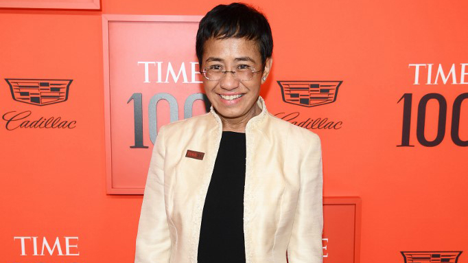 TIME 100. Maria Ressa attends the TIME 100 Gala Red Carpet at Jazz at Lincoln Center on April 23, 2019, in New York City. Dimitrios Kambouris/Getty Images for TIME/AFP