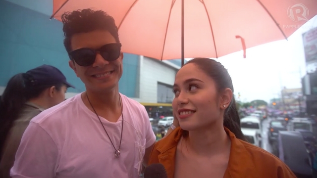 GIRL IN THE ORANGE DRESS. Jericho Rosales and Jessy Mendiola are starring the upcoming romantic comedy. Rappler Screenshot